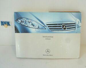 Betriebsanleitung Bedienungsanleitung B2 2004 Mercedes W169