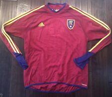 MLS Adidas Formotion  RSL Real Salt Lake Long Sleeve Goalkeeper Soccer Jersey XL