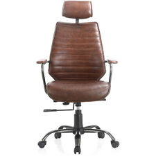 Moes Home Collection Pk 1081 20 Executive Brown Office Chair
