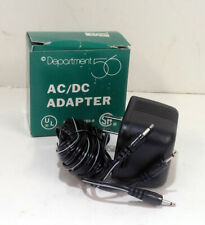 Department Dept 56 Ac / Dc Adapter #55026 3 Prong