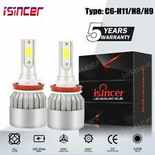 H11 LED Headlight 6000K 1500W 225000LM Conversion Kit Low Beam Bulbs High Power