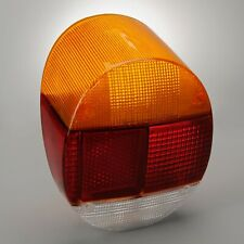 1973-1979 VW Beetle Super Beetle Left Hand Amber Red White Taillight Lens 303503