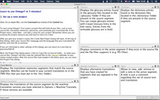OmegaT (Computer Aided Translation CAT Software) for Windows and Mac