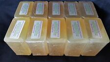 10 lb HEMP SEED OIL Melt And Pour Glycerin Soap Olive Oil 100% All Natural BULK