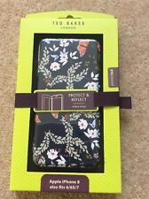 Ted Baker mirror Folio Case for iPhone 8 7 6  floral cover
