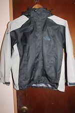 North Face Summit Series Women's Black Beige Jacket Size 8 Petite Gore Tex XCR