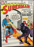 SUPERMAN COMIC (DC,1958) #124 EARLY SILVER AGE!! ~