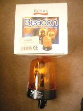Britax Halogen Rotating Amber Beacon 24v plug in base