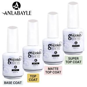 Anlabayle Gel Nail Polish Base And Top Coat UV LED Matte Top Coat Manicure Salon