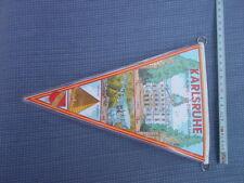 Karlsruhe Jubiläumswimpel 250 Jahre  1965 neu