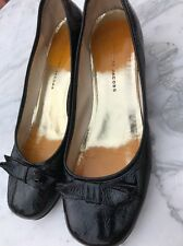 Marc By Marc Jacobs Shoes Ladies Size 6/39 Black Patent Leather Ballerina Pumps