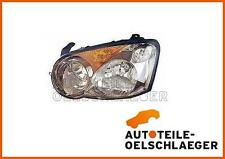 LH headlight headlamp koplamp faro strålkastare SUBARU WRX 2003-2005