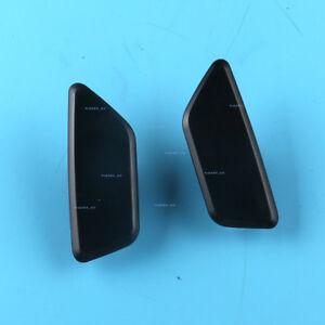 Pair New Headlight Washer Cover Cap-Left + Right Side For Subaru Impreza XV