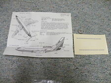 Fowler Aviation  decals 1/144 Sheet 02 Boeing 737 Southwest windows    D147