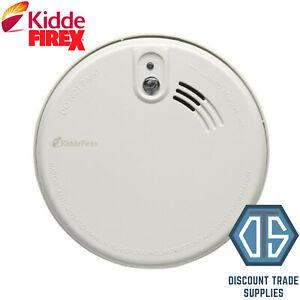 Kidde FireX KF20R Mains Optical Smoke Alarm Detector Rechargeabl Lithium Battery
