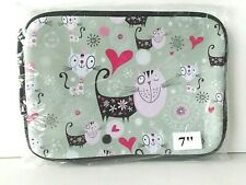 Leapfrog LeapPad 1 2 3 - Soft Cat Design Case / Pouch for tablet consoles - New