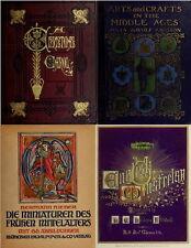 161 OLD BOOKS ON ILLUMINATION ILLUMINATED MANUSCRIPT ANCIENT MEDIEVAL ART ON DVD