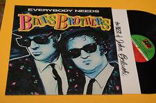 BLUES BROTHERS LP EVERRYBODY NEEDS ORIG ITALY PRESS 1981 EX