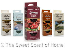 YANKEE CANDLE ELECTRIC SCENT PLUG IN AIR FRESHENER FRAGRANCES REFILL 1 Pack of 2