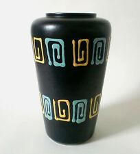 60s Fohr Keramik H 27 cm Vase west german ceramic mid mod pottery annees 60