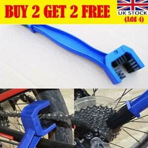Motorcycle Bike Bicycle Chain Wheel Cleaning Brush Motorbike Cleaner Tools AN