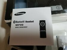 Bluetooth Samsung Model WEP410  Headset with charger