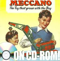 1950S MECCANO TOY CATALOGS AUSSIE & NZ ON CD-ROM! DINKY HORNBY TRAINS DUBLO +++!