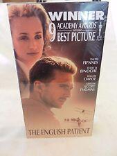 The English Patient (VHS, 1997) Ralph Fiennes, Juliette Binoche