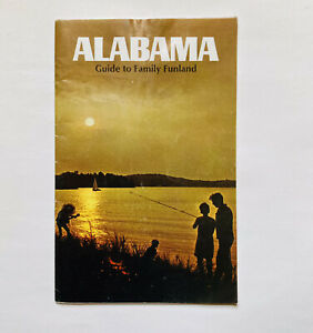 Vintage 1960s Alabama Guide to Family Funland 36 Page Travel Brochure Pamphlet