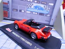 PORSCHE 911 Turbo Cabrio G-Modell Cabriolet rot red 1985 Sonderpreis Schuco 1:43