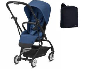 Cybex Eezy S Twist 2 Stroller, Navy Blue + FREE Travel Bag - NEW in SEALED BOX!