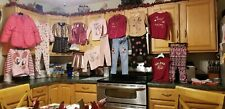 Lot 18 Toddler Girl Sz 4 Pants, Shirts, Coat, Jackets, Pj's, Purse- 365 Kids