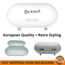Bread Bin Retro Vintage White Premium Tadar Chlebak European Bread Bin 2017