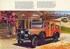 Print. 1929 Ford Model A Station Wagon Auto Ad