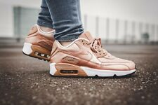 JUNIOR NIKE AIR MAX 90 SE LEATHER ROSEGOLD / BRONZE - WOMENS UK SIZE 5