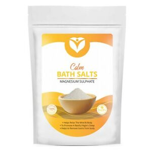 Epsom Bath Salts Spa Natural Magnesium Sulphate Relax Muscle Joints Aches Pain