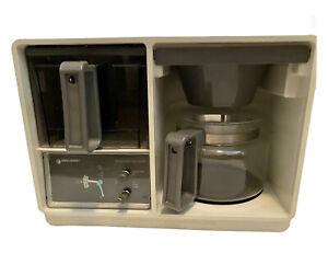Vintage Black & Decker Spacemaker Coffee Maker Under Cabinet Clock Brew Tested