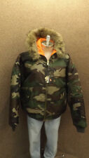NWT Counter Attack Olive Camo Air Force Jacket/Parka  Sz XXL Camouflage