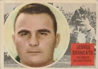 1960 TOPPS CFL GEORGE BRANCATO OTTAWA ROUGH RIDERS #60 (LSU TIGERS) COACH SEC