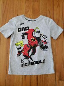 DISNEY Incredibles Jumping Beans Boys Short Sleeve Shirt size 5T
