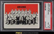 1965 Topps Hockey Boston Bruins #128 PSA 8 NM-MT