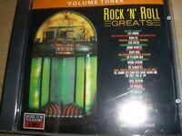Rock 'N' Roll Greats Volume Three CD Album 1992 Music For Pleasure CD MFP 5941