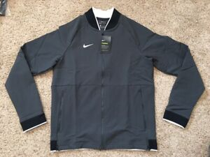 $135 Men's Nike Therma Dri Fit Midweight Full Zip Football Gray Jacket