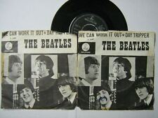THE BEATLES 45 TOURS UK WE CAN WORK IT OUT