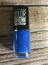 MAYBELLINE Color Show 60 Seconds Nail Polish ~ # 335 Broadway Blues ~ 7ml ~ New