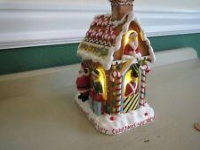 Rockettes Christmas Spectacular Radio City NY Light Up Gingerbread House