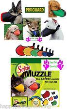 WHOLESALE LOT- 6 Piece SET ProGuard SOFTIE DOG MUZZLES *ALL Breed Muzzle SIZES