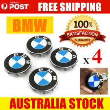 BMW 68mm Blue White WHEEL RIM CENTRE CAP Caps COVER DECAL STICKER 1 2 3 5 x5 X3