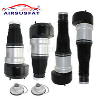 New 4PCS For Mercedes W221 C216 Front Rear Air Suspension Spring Bag CL S Class