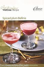 Recipe Card: Spiced Plum Bellinis (Waitrose)